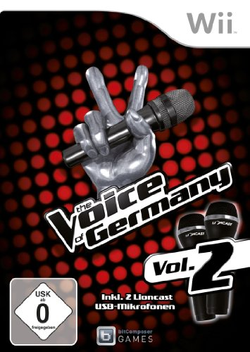 The Voice of Germany Vol. 2 (inkl. 2 Mikros) - [Nintendo Wii]