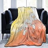 Bhutan-Flaggen-Flanelldecke, flauschig, bequem, warm, leicht, weich, Überwurf, Decken für Sofa, Couch, Schlafzimmer