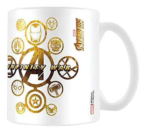 Pyramid International Avengers Infinity War - Mug Connecting Icons, 320 ML