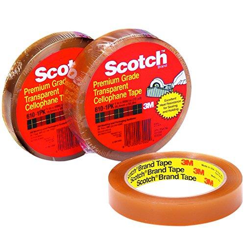 Scotch T96461012PK Cellophane Tape, 3/4