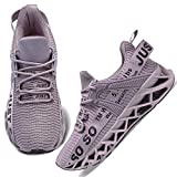 WONESION Women Lightweight Tennis Shoes Casual Outdoor Sneakers for Jogging Gym
