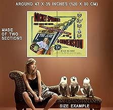 73607 I, The Jury Movie 1982 Thriller Drama Decor Wall 47x35 Huge Giant Poster Print