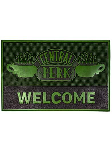 Friends Felpudo Central Perk Cafe Alfombrilla de entrada de goma Regalo
