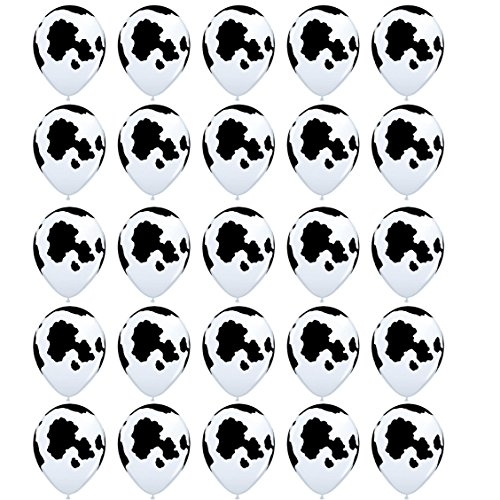 25PCS Sc0nni Funny Cow Print Balloons,For Childrens Party