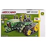 MECCANO 6038188 – Kit pour Tracteur John Deere de la série 9RT, Menthe – Technique – Jouet éducatif pour Enfants à partir de 10 Ans