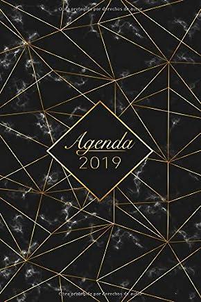 Agenda 2019: Organiza tu día - Planificador y Calendario semanal 2019 (Spanish Edition)