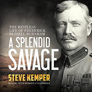 A Splendid Savage audiobook cover art