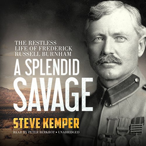 A Splendid Savage audiobook cover art