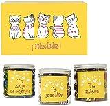 SMARTY BOX Regalo Chuches Original Caja de Caramelos y Gominolas Día de la Madre, San Valentín, Cumpleaños Pareja, Enamorados, Golosinas con Frases Mensajes sin Gluten, Fabricado en España