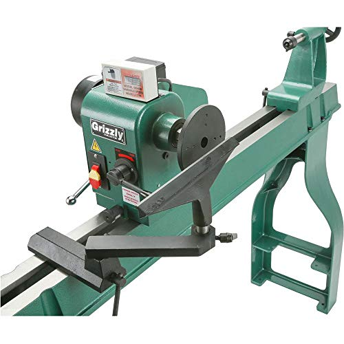 """Grizzly Industrial G0462-16"""" x 46"""" Wood Lathe with DRO"""