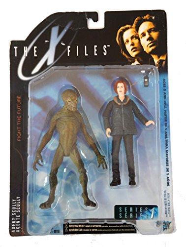 16cm Akte X Agent Dana Scully mit Alien
