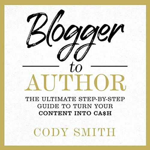Blogger to Author cover art