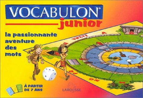 Vocabulon junior. Jeux éducatifs pour découvrir l'alphabet