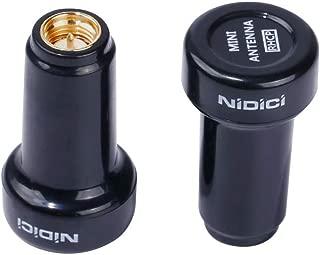 NIDICI 5.8G Stubby FPV Antennas SMA Male 3Dbi RHCP Antenna for FPV Racing Drone Transmitter TX VTX (Pack of 2)