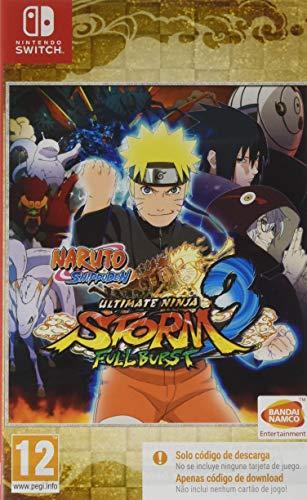 Naruto Ultimate Ninja Storm 3 Full Burst (Code In a Box)
