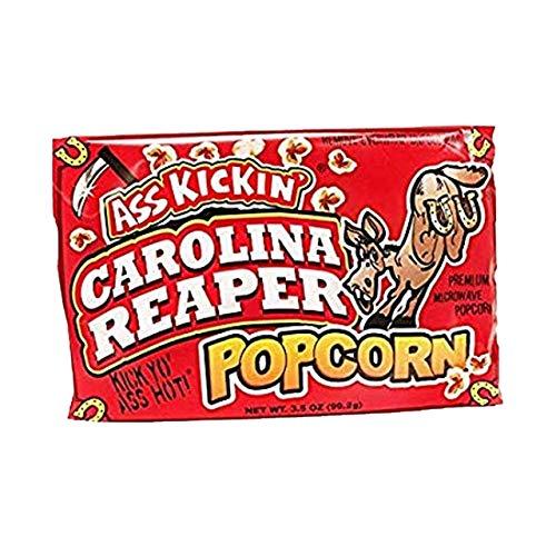 Ass Kickin Carolina Reaper - Sacchetto di popcorn speziati piccanti al microonde