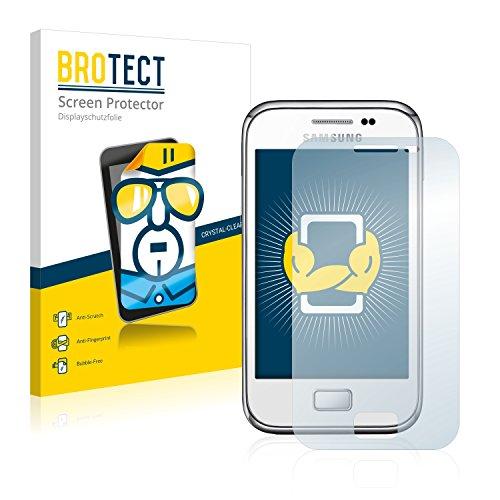 brotect Pellicola Protettiva Compatibile con Samsung Galaxy Ace Plus S7500 Pellicola Trasparente (2 Pezzi) Anti-Impronte