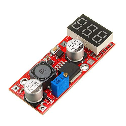 Buy Bargain No branded Regulator Module LM2596 DC-DC Adjustable Voltage Regulator Module with Voltag...