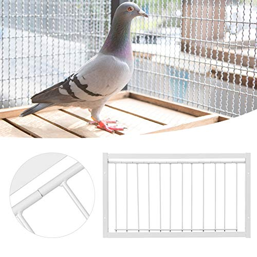 chengong 【2021 New Year's Special】 High Strength Iron Durability Simply Install Easy Installation Good Stability Birdcages T-Trap, Birds House Door, for Birdcage Pigeon(53.526cm)