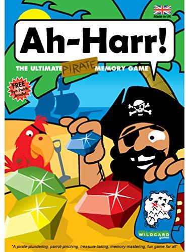 Wildcard Games A-harr het ultieme piraat geheugenspel