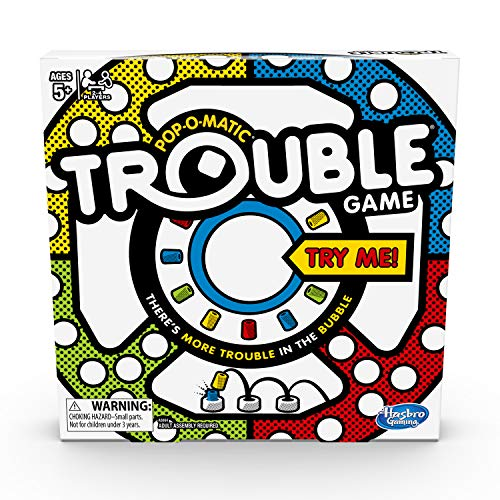 Trouble Board Game for Kids Ages 5 and...