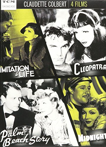 Claudette Colbert: Imitation of Life / Cleopatra / The Palm Beach Story /Midnight