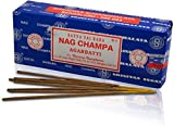 Original-Satya-Sai-Baba-Agarbatti-Incense-Sticks Hand-Rolled-Fine-Quality Used-for-Purification-Relaxation-Positivity-Yoga-Meditation with-Ebook-Health-Rich-Wealth-Rich Nag Champa 250GM