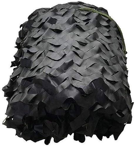 HHSzp Jungle Noir Camouflage Net Camping Ombre Tactique Net en Plein Air Crème Solaire CS Mesh Auvent Enfants Voiture Tente Thème Fête Gros Point, Diverses Tailles