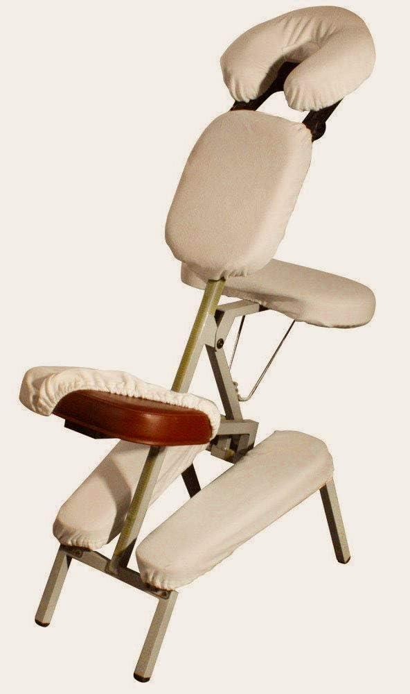 DevLon NorthWest Massage Chair Sheet Set Cover 100 Percent Cotton 6 Piece Chair Set Beige: Kitchen & Dining