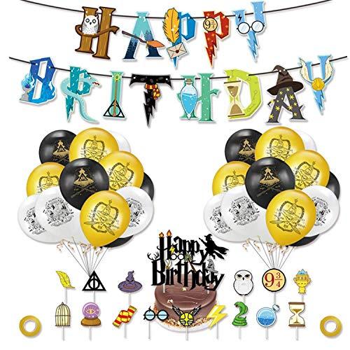 Comius Sharp 49 Pezzi Set di Forniture per Feste di Compleanno di...