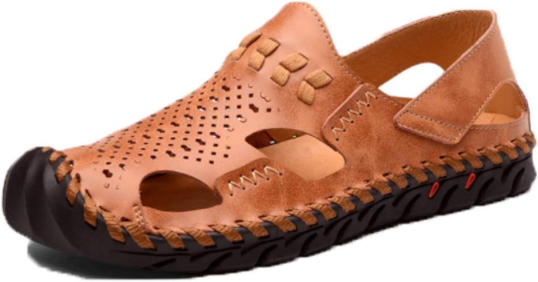 YCGCM Men's Beach shoes Summer Casual Non-Slip Slippers Sandals