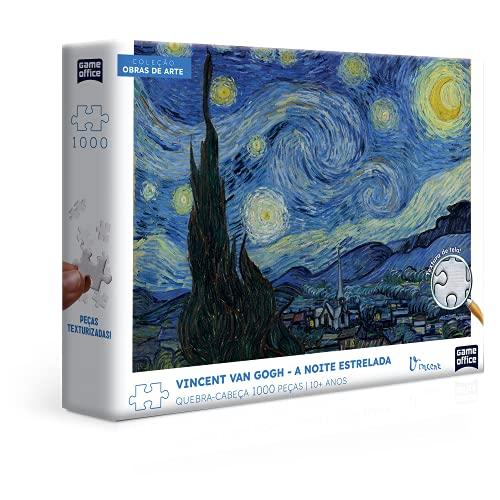Vincent Van Gogh - A Noite Estrelada - Quebra-cabeça - 1000 peças, Toyster