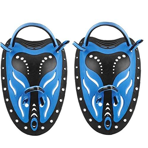 Kraft Handpaddel Power Schwimmen Paddel für Training Verbessern Sie Technik, Größen für Erwachsene Kinder Unisex