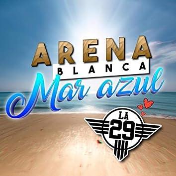 Arena Blanca, Mar Azul