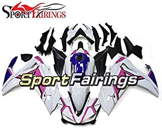 Sportfairingsのための完全な注入ABS 樹脂プラスチックのオートバイフェアリングヤマハR25 R3 2015 2016 15 16ホワイトピンクブルーニューカバー