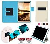 reboon Hülle für Huawei MediaPad M2 Tasche Cover Case Bumper | in Beige | Testsieger