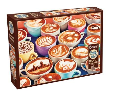 Cobble Hill 1000 Piece Puzzle - BaristArt - Sample Poster Included