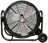 Hurricane Pro Heavy Duty Adjustable Tilt Drum Fan