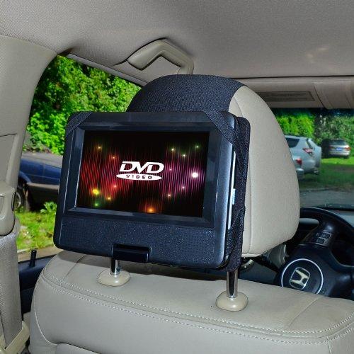 TFY Supporto Auto Poggiatesta Lettore DVD Portatile (per Sony DVP-FX750, Sony DVP-FX780 e altri)