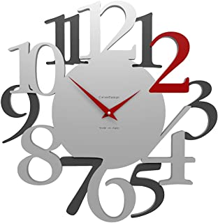 CalleaDesign - Wall Clock Russell, Ruby