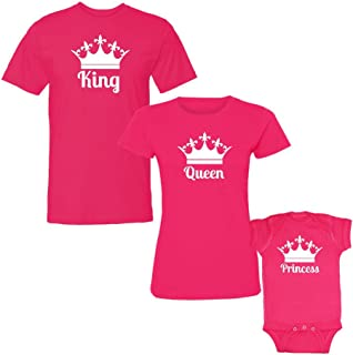 tee shirt queen king princess