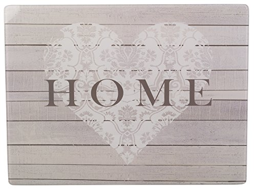 "Creative Tops 5166762 Everyday Home Glasarbeitsplatte, 40x30cm - ""Home"""