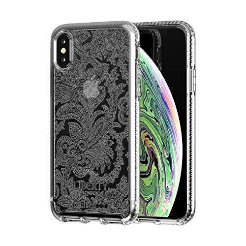 tech21 Pure Design Liberty Grosvenor Phone Case for iPhone Xs Max - Clear