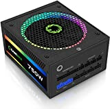 Power Supply 750W Fully Modular 80+ Gold Certified with ARGB Light Mode, GAMEMAX RGB-750