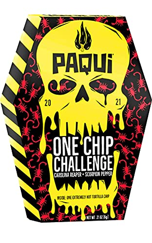 One Chip Challenge, 1 Pack 0.21 Ounce, 2021