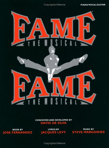 Fame The Musical: (Piano/Vocal/Guitar)