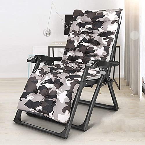 FCDWHJ Patio Lounge Chair, Chaise Longue Pieghevole, sedie reclinabili Regolabili a 180 ° Portatili per Giardino all'aperto,A