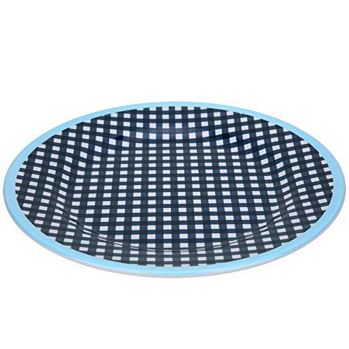 Plato de 22 mm de diámetro con forma redonda, superficie plana para...