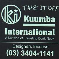 KUUMBA/クンバ『incense』(TAKE IT OFF) (Regular size)