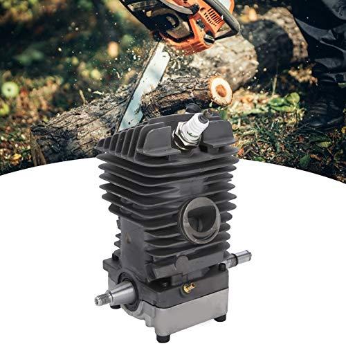 Conjunto de cilindro, repuesto de cilindro de motosierra de aleación de aluminio, duradero de alto rendimiento resistente al desgaste para motosierra MS290 MS390 MS310
